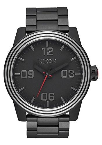 NIXON/THE CORPORAL SS (NIXON × STAR WARS) 腕時計 KYLO BLACK A346SW2444-00 [並行輸入品]