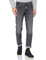 Tommy Hilfiger Straight Denton Str Agar Black Pantalones para Hombre