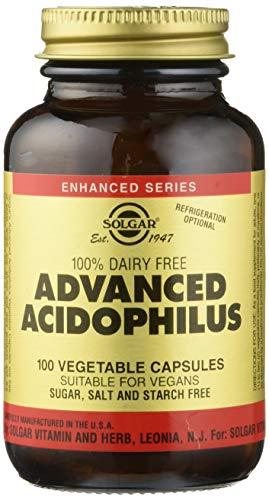 Solgar, Advanced Acidophilus (Non-Dairy) Vegetable Kappenules, 100