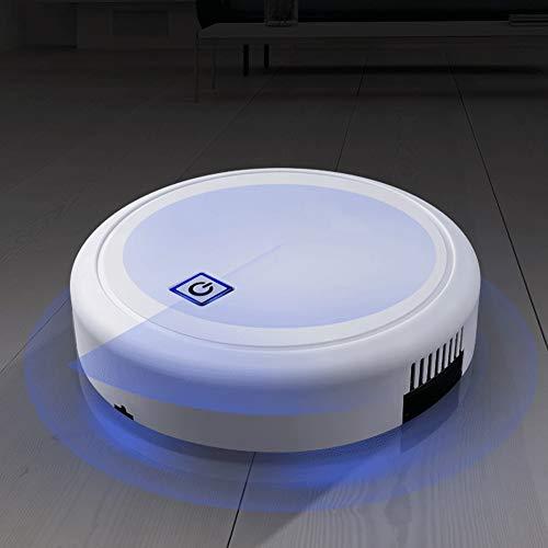 Nannday 【 】 Robot Aspirador, Robot de Barrido automático Inteligente Carga por USB Barredora robótica Electrodomésticos para Piso Duro, Alfombra(1-2#)