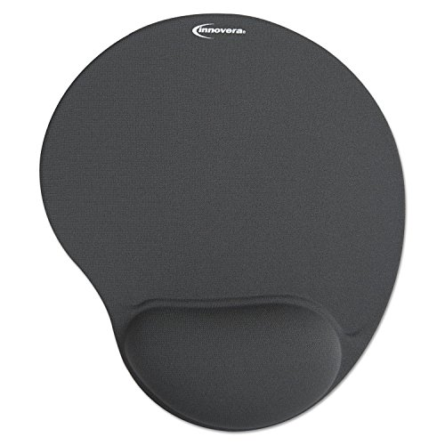 Innovera Mouse Pad with Gel Wrist Pad, Gray (50449)