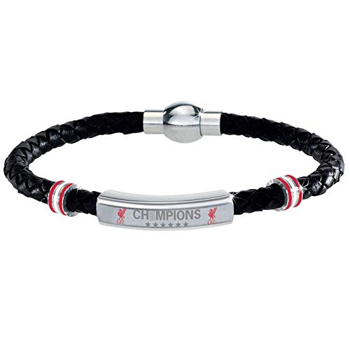 Liverpool F.C. Champions Of Europe 19 'Special Edition' Leather Bracelet