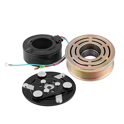 Placa de embrague de compresor de CA, placa de bobina de rodamiento de polea de embrague de compresor de CA para aire acondicionado 1.7L 2001-2005 S08OGBC001