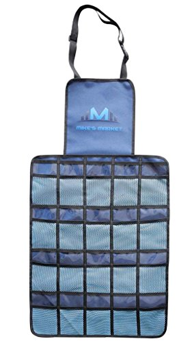 Mike's Market Back Seat Car Organizer, Ideal for Uber, and Taxi Drivers, 20 Large Pocket Storage,...