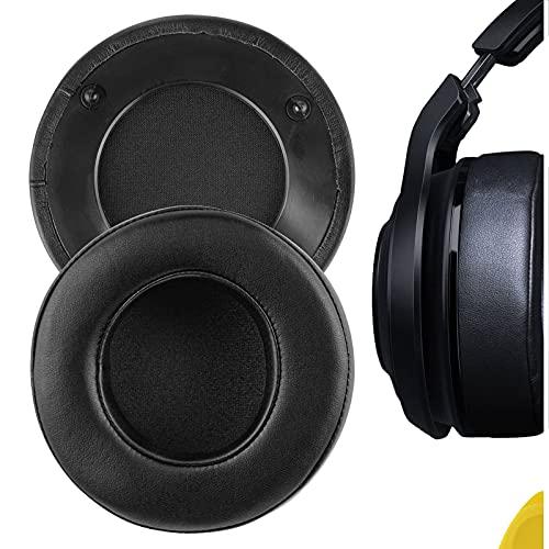 geekria Ersatz Ohrpolster für Razer Mano 'War Wireless 7.1Surround Sound Gaming Headset Ohr Pad/Ohr Kissen/-Cups/-,/Kopfhörer Ohrpolster Reparatur Teile (schwarz)