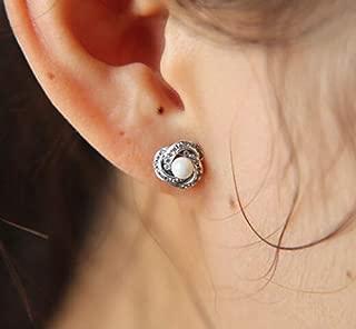 2017 Sale Earings Brincos Brinco Luminous Love Knots Stud Earrings 925 Sterling-Silver-Jewelry Crystal & Cz Heart for Women