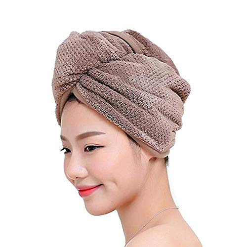 Fyore Ultra absorbente Turbante cabello Toalla secado