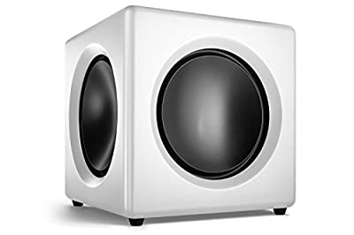 wavemaster 66411 125 W Fusion Active Subwoofer - Soft White by wavemaster
