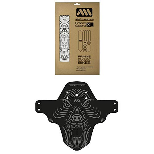 All Mountain Style Protection de Cadre XL + Garde-boue Loup
