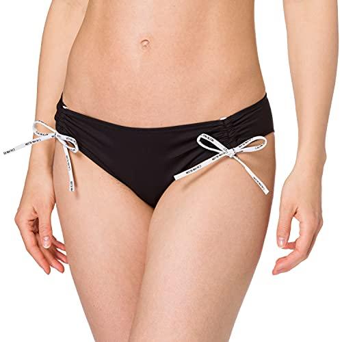 Calvin Klein Classic Juego de Bikini, Pvh Negro, S para Mujer