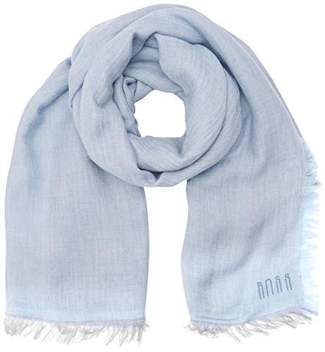 BOSS Damen NALU1 Schal, Blau (Light/Pastel Blue 450), One Size (Herstellergröße: STCK)
