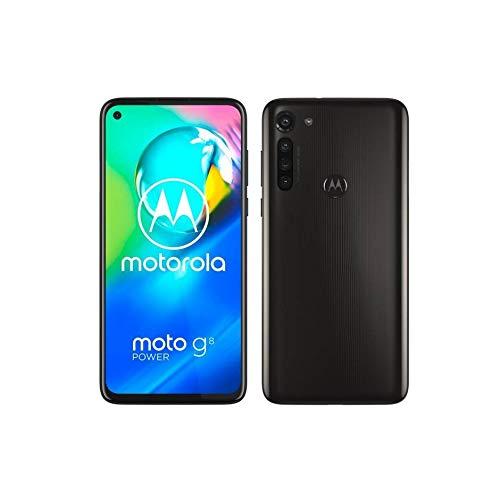 Motorola Moto G8 Power 64GB Handy, schwarz, Smoke Black, Android 10
