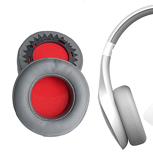 V-MOTA Earpads Compatible with Motorola SH013 BK Pulse Escape + Wireless Over-Ear Headphones,Replacement Cushions Repair Parts (Grey Earpads 1 Pair)
