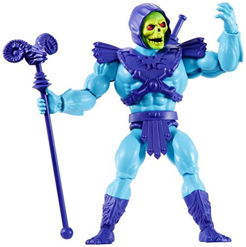 Masters of the Universe Mattel GNN88 - Origins Skeletor, Figura de Acción para Niños y Niñas +6 Años