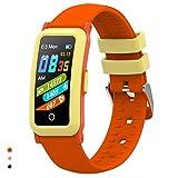 BingoFit Fitness Armband Uhr Kinder, Fitness Tracker Smartwatch mit Blutdruck Pulsmesser und Schlafmonitor