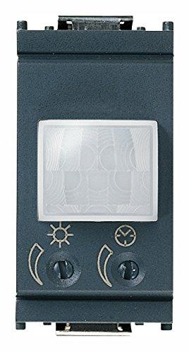 Vimar 16633 Idea sensore di movimento crepuscolare e/o temporizzato a infrarossi, relè 230V