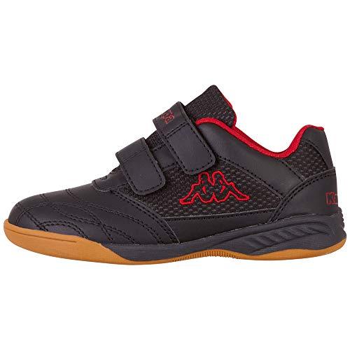 Kappa Unisex Kinder Kickoff OC Sneaker, 1120 Black/red,40 EU