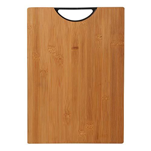 Bergner Tabla de cortar 35x25x3.0cm black bamboo colección