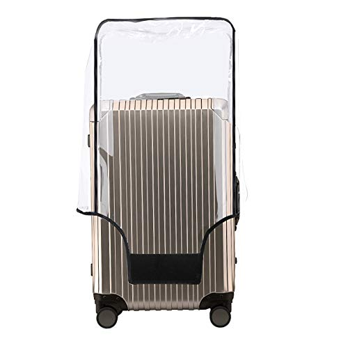 Luggage Cover 30 Inch Suitcase Cover Rolling Luggage Cover Protector Clear PVC Suitcase Cover for Carry on Luggage