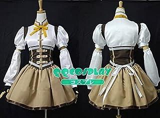 小笨康 コスプレ衣装 魔法少女まどか☆マギカ 巴マミ cosplay (XL, 女)