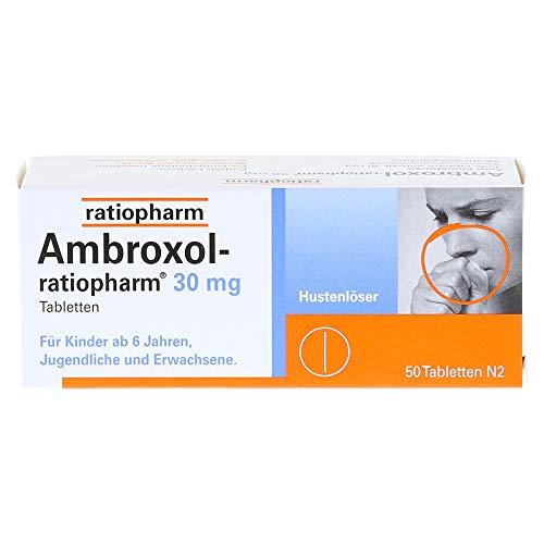 Ambroxol-ratiopharm 30mg Hustenlöser, 50 St