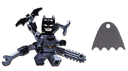 LEGO Superheroes: Batman Minifig with Octo Arms Plus Bonus Grey Cape