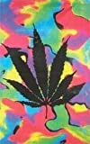 Marihuana Tie Dye Flagge Fahne Grösse 1,50x0,90m