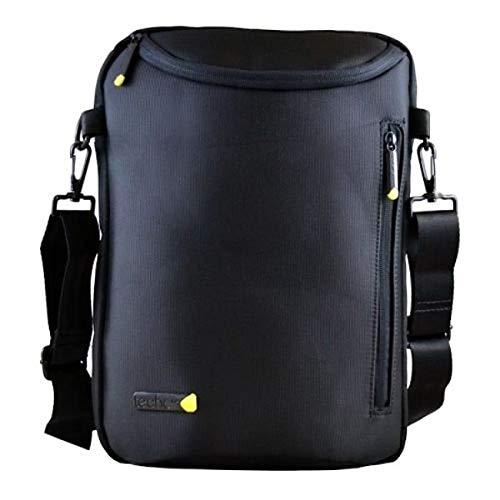 Tech Air TAUBP005V2 13.3 Inch Toploader Bag Black Notebook Bag – Laptop Bags (Toploader Bag, 33.8 cm (13.3 inches), Shoulder Strap, 450 g, Black)