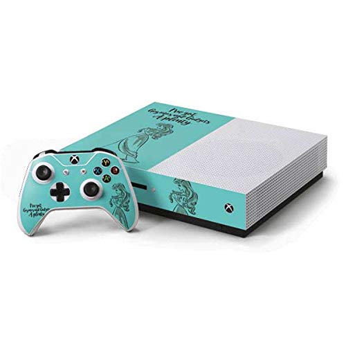 Skinit Decal Gaming Skin Compatible with Xbox One S Console and Controller Bundle - Officially Licensed Disney Ariel Gizmos and Gadgets Design