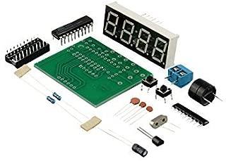 2 PCS New AT89C2051 Digital 4 Bits Electronic Clock Electronic Production