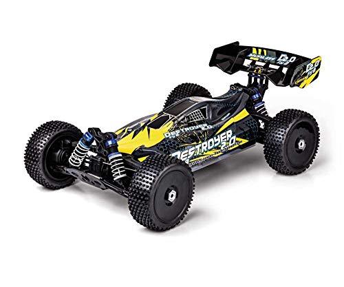 RC Auto kaufen Buggy Bild 3: Carson 500409092 500409092-1:8 FY8 Buggy Destroyer 2.0 4S RTR, Ferngesteuertes Auto, RC-Fahrzeug, inkl. Batterien und Fernsteuerung, schwarz*