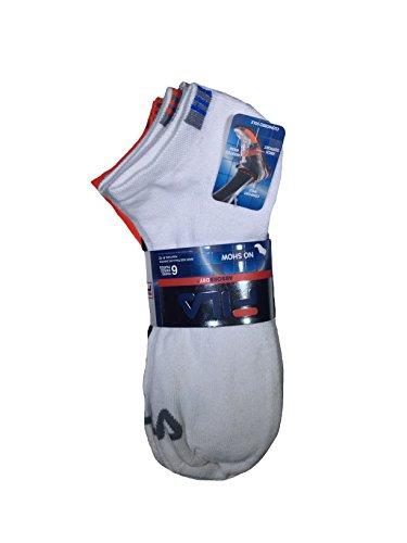 FILA 6PK Mens Athletic Socks