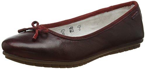 bugatti Damen 422431604100 Slipper, Rot (Red 3000), 37 EU