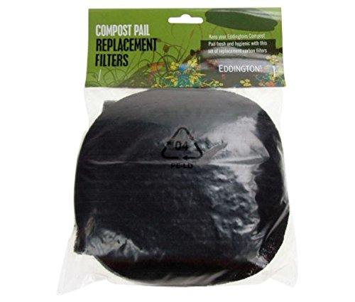 Eddingtons-Filtre carbone de rechange pour Seau à Compost.