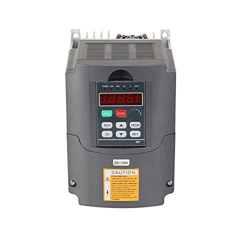 FlowerW 3KW 220V 4HP Transformator VFD Drehzahlregelung Frequenzumrichter 4HP Frequenzumrichter Diver Frequenzumrichter Professional