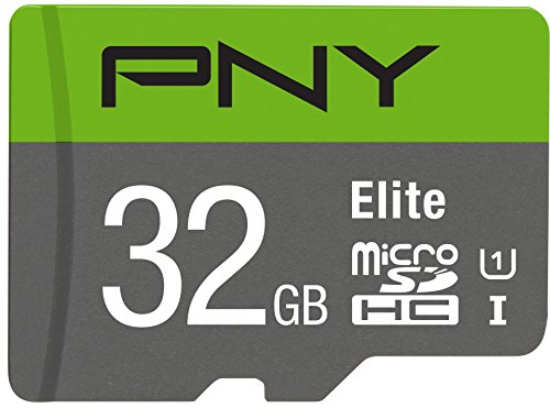 PNY 32GB Elite Class 10 U1 microSD Flash Memory Card