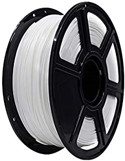Flahforge PLA 1.75mm 3D Printer Filaments 1kg Spool-Dimensional Accuracy +/- 0.05mm for Finder and Creator Pro(White)