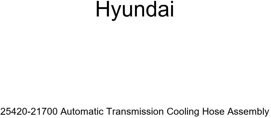 Ranking TOP15 Genuine Hyundai 25420-21700 Automatic Max 79% OFF Cooling Transmission Hose