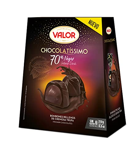 Valor Bombones Chocolatíssimo Negro 70%, 250g