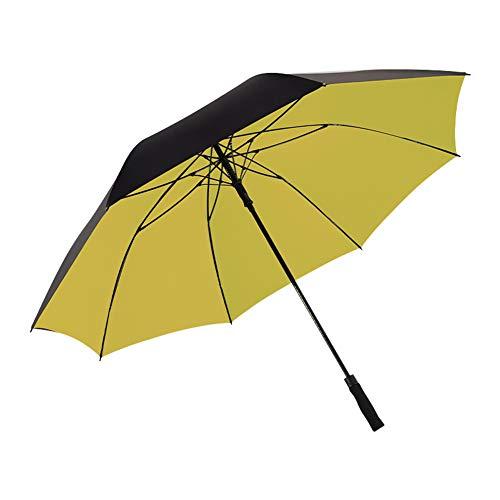 Umbrella Regenschirm, Großer Golf Regenschirm, Klappschirm, 150 cm, Selbstöffnender Reiseschirm, Bietet Platz Für 3-4 Personen