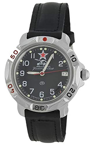 Vostok Komandirskie 2414 Hand-Winding Mechanical Russian Military Mechanical Watch // 431306