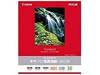 キヤノン写真用紙・絹目調 六切 30枚 SG-201MG30 1686B004