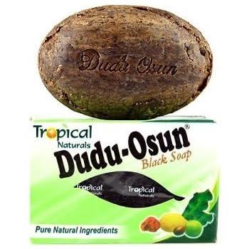 Dudu-osun African Black Soap (100% Pure) Pack of 4