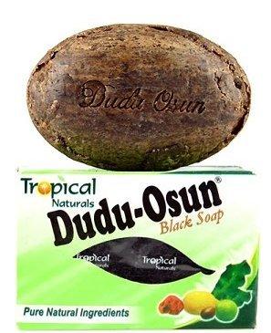 Dudu-Osun Jabón negro africano 3 unidades (100% puro)–Para problemas cutáneos (acné, psoriasis, dermatitis, eccema) de Estados Unidos