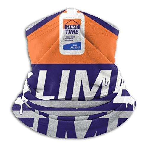 Slime Time Gesichtsmaske mit Kleber, staubdicht, Kopfbedeckung, Bandanas für Radfahren, Laufen, Wandern