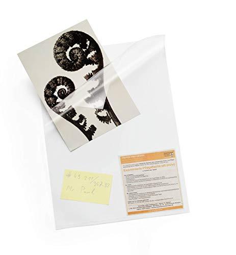 Durable Faxhülle, Beutel à 2 Stück weiß, mit 3 offenen Seiten , 234602