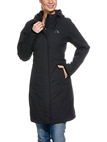Tatonka Damen Mantel Tabara Coat, Black, 38