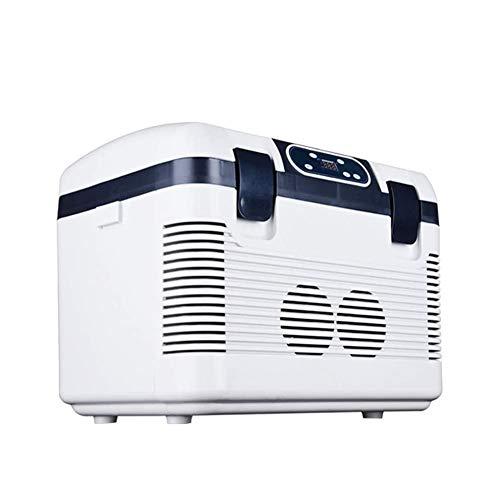 Zhenwo Mini Frigorifero Auto Compressore Congelatore Orizzontale Borsa Frigo, Auto E Camion, 19L capacità,A