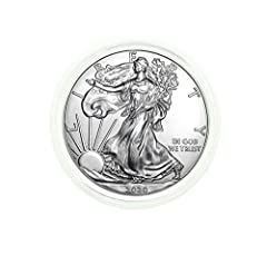 American Silver Eagle $1 Legal US Tender 1 oz of .999 Fine Silver Comes in Direct Fit Air-Tite Now with our Certificate of Authenticity!