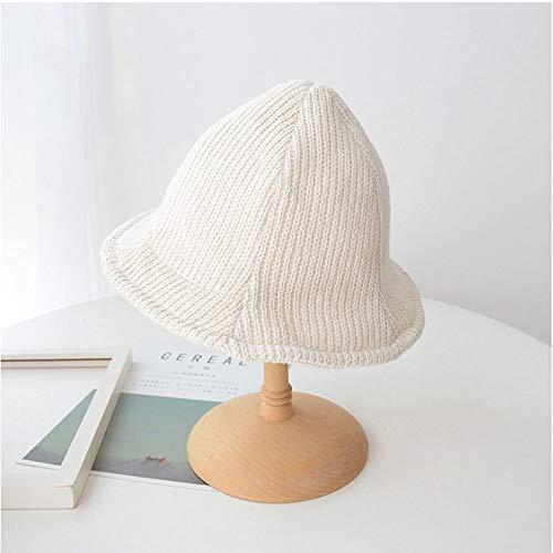 SHYPT Damen Beret Herbst-Winter-Warm Gestrickte Wollmütze Maler Künstler-Hut Retro Frauen-Kürbis-Hut-Mädchen (Color : A)